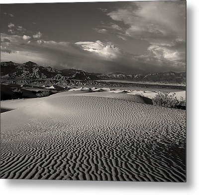 Metal Print featuring the photograph Desert Dunes by Gary Cloud