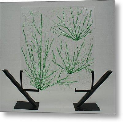 Desert Grass Metal Print by Louis Copper