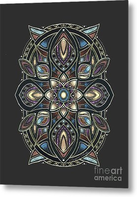 Design 222 A Metal Print by Suzanne Schaefer
