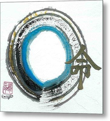 Destiny In Zen Metal Print by Ellen Miffitt