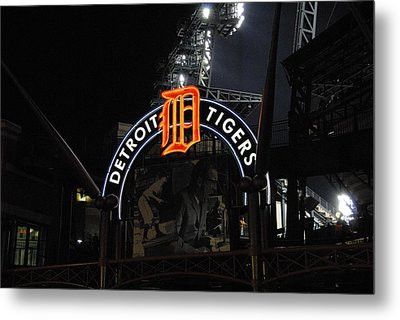 Detroit Tigers Metal Print