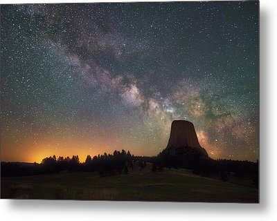 Metal Print featuring the photograph Devils Night Watch by Darren White