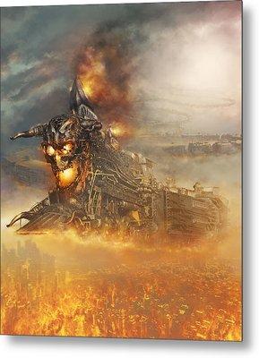 Devils Train 2 Metal Print