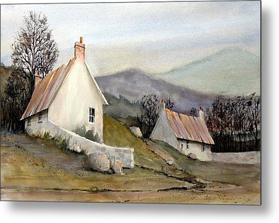 Devonshire Cottage I Metal Print by Charles Rowland