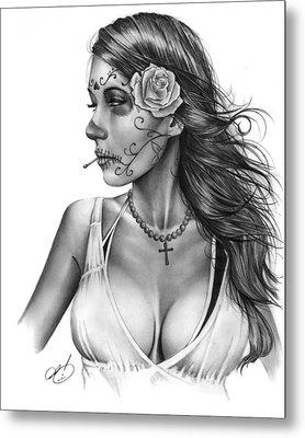 Dia De Los Muertos 1 Metal Print by Pete Tapang