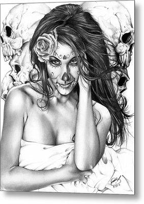 Dia De Los Muertos 2 Metal Print by Pete Tapang