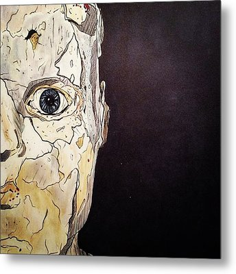 Did You Realize No One Can See Inside Your View Metal Print