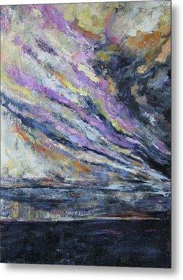 Dispelling Storm Metal Print by Debora Cardaci