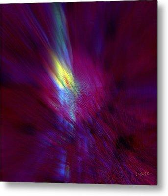 Divine Activity - No External Pressure Metal Print by Fania Simon