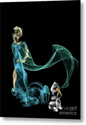 Do I Want To Build A Snowman Metal Print
