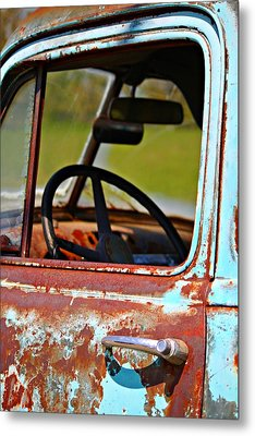 Do You Need A Ride- Fine Art Metal Print by KayeCee Spain