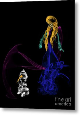 Do You Want To Build A Snowman Metal Print