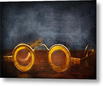 Doctor - Optometrist - It's All The Rage  Metal Print by Mike Savad