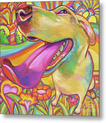 Dog Daze Of Summer Metal Print