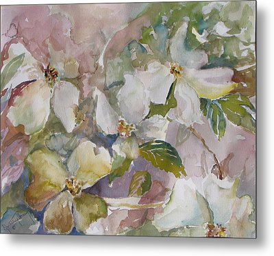 Dogwood Metal Print by Dorothy Herron