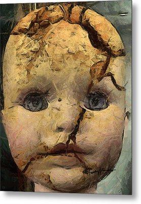 Doll Trauma Metal Print by Anthony Caruso