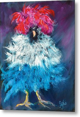 Dolly Metal Print by Sally Seago