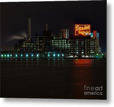 Domino Sugars Wide Metal Print by Mark Dodd