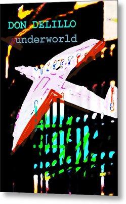 Don Delillo Poster Underworld  Metal Print by Paul Sutcliffe