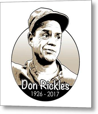Don Rickles Metal Print by Greg Joens