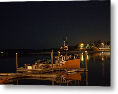 Metal Print featuring the photograph Done Fishing by Greg DeBeck