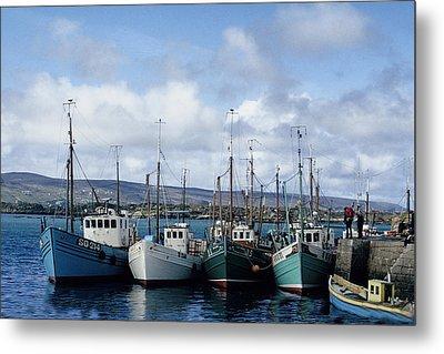 Donegal Fishing Port Metal Print