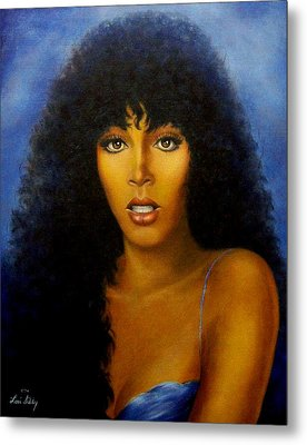 Donna Summers Metal Print