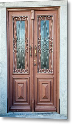 Door Of Algarve Metal Print