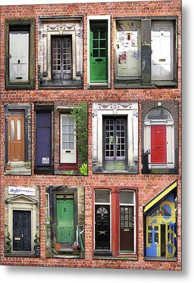 Doors Of England I Metal Print