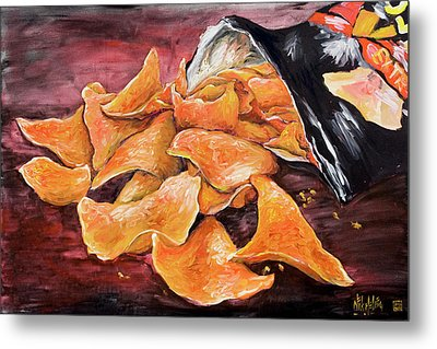 Doritos Metal Print by Nik Helbig