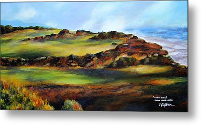 Double Bogey Metal Print by Marti Green