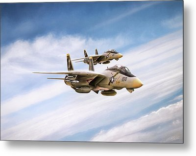 Double Nuts Metal Print by Peter Chilelli