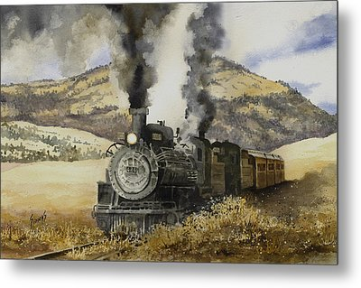 Double Teamin To Cumbres Pass Metal Print
