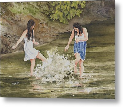 Double Trouble Metal Print by Sam Sidders