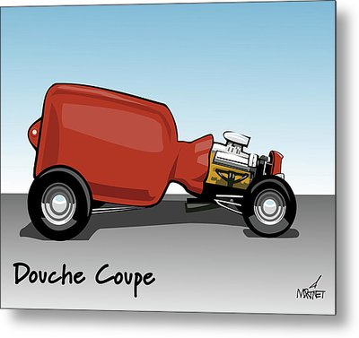 Douche Coupe Metal Print