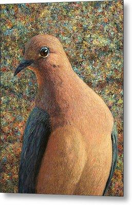 Dove Metal Print by James W Johnson