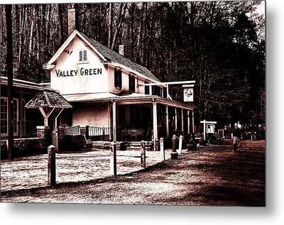 Down At Valley Green Metal Print by Bill Cannon
