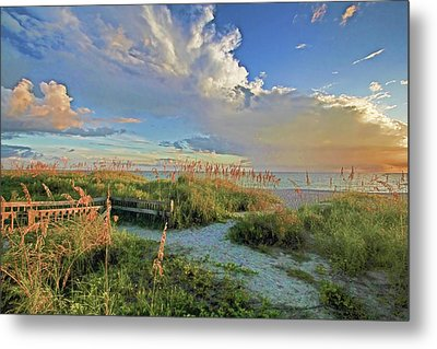 Down To The Beach 2 - Florida Beaches Metal Print by HH Photography of Florida