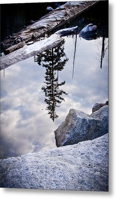 Downside Up Metal Print by Albert Seger