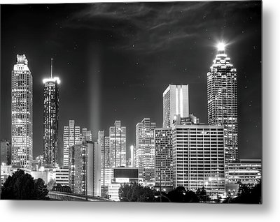 Downtown Atlanta Skyline Metal Print