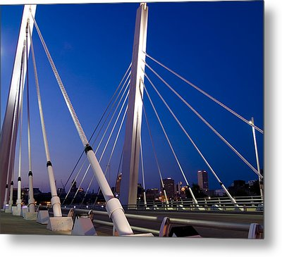 Metal Print featuring the photograph Downtown Gateway by Peter Skiba