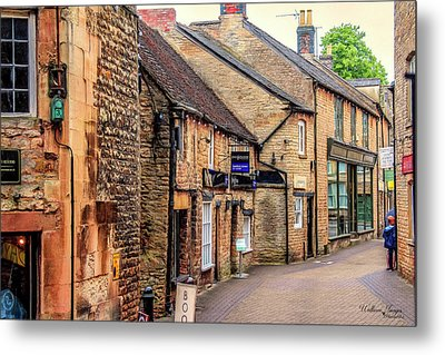 Metal Print featuring the photograph Downtown In The Cotswolds by Wallaroo Images