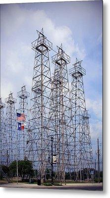 Downtown Kilgore Texas Metal Print by Gayle Johnson
