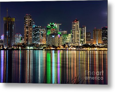 Metal Print featuring the photograph Downtown San Diego by Eddie Yerkish