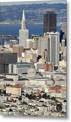 Downtown San Francisco Metal Print by Pierre Leclerc Photography
