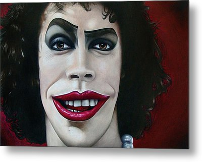 Dr. Frank-n-furter Metal Print by Kalie Hoodhood