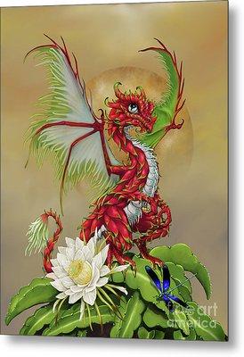 Dragon Fruit Dragon Metal Print by Stanley Morrison