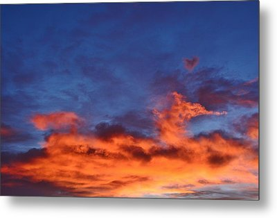 Metal Print featuring the photograph Dragon Sunrise by Diane Alexander