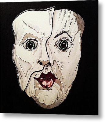 It's Not Inside Your Mind Metal Print