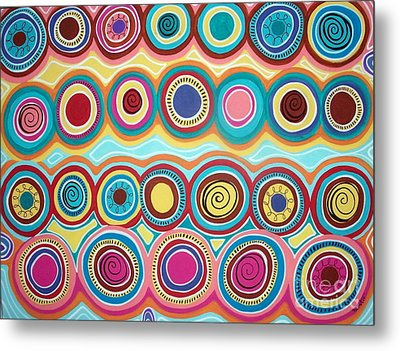 Dream Circles Metal Print by Karla Gerard